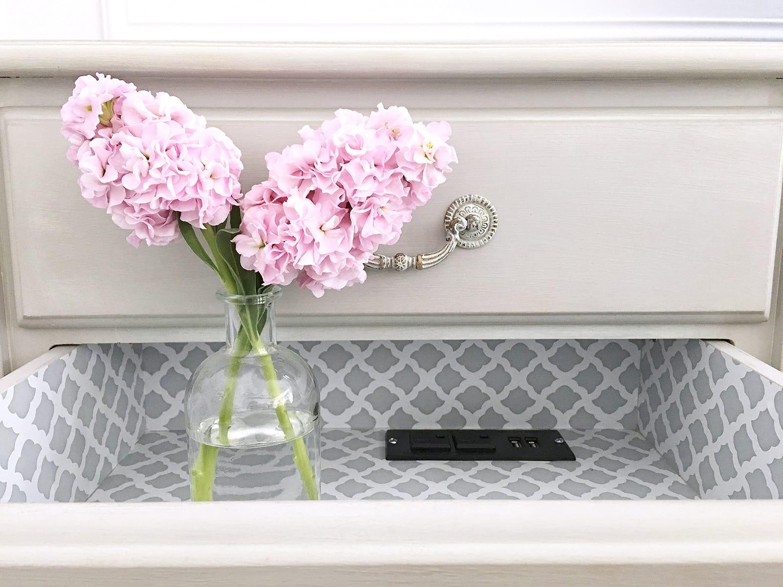 apply wallpaper to drawer
