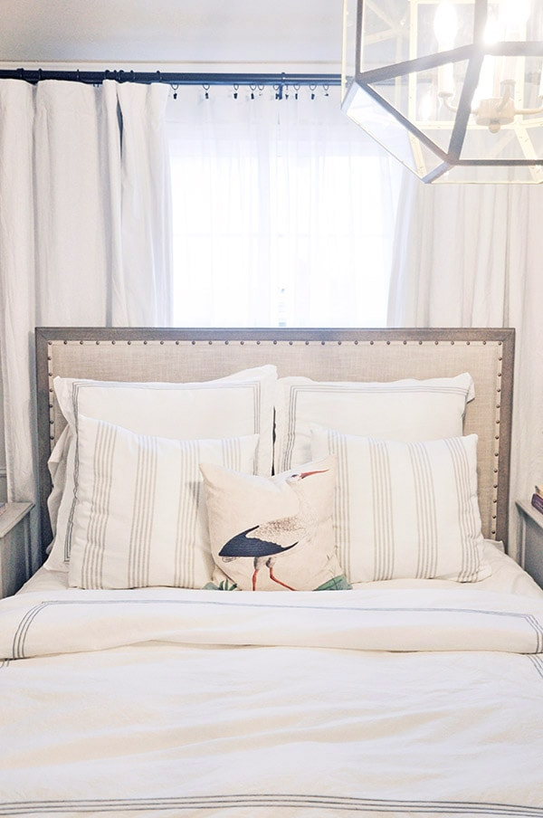 pottery barn toulouse bed beddings make the bed