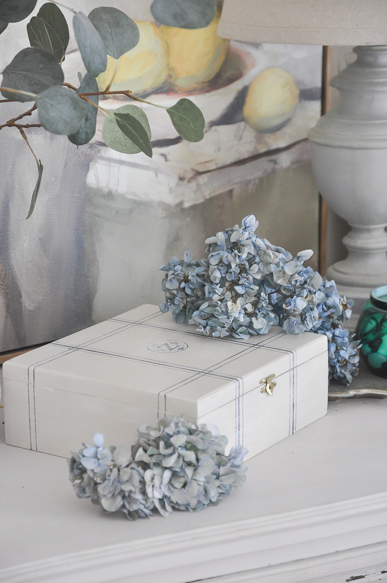 cigar box repurposed | bone inlay box for storage | diy cigar box crafts ideas
