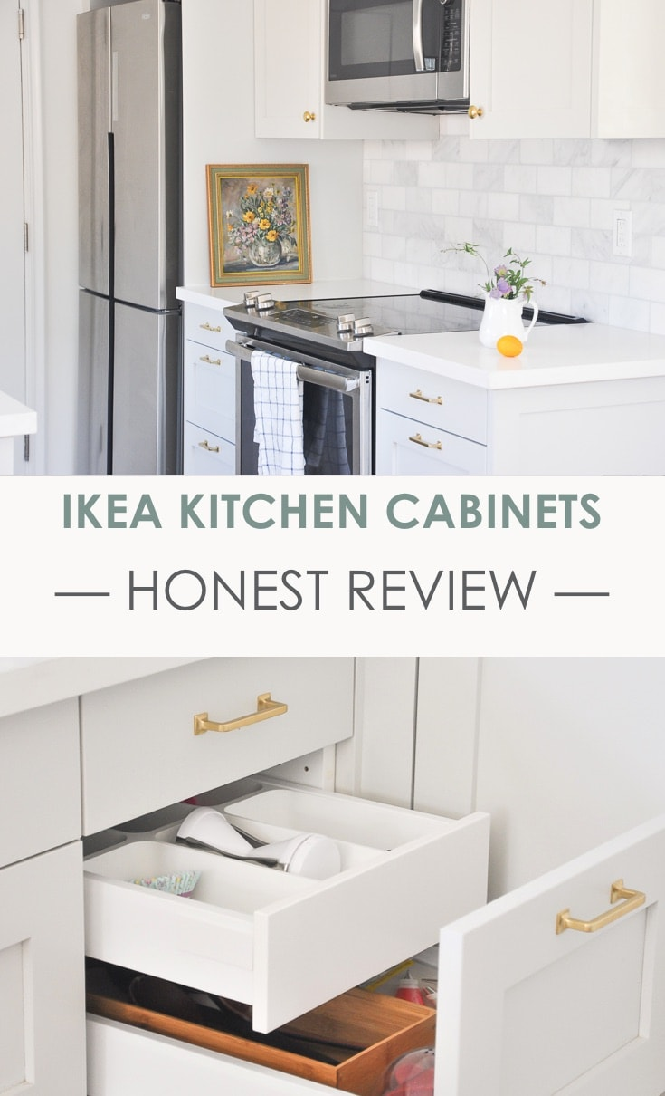 Kitchen Tour Part 1 | IKEA Kitchen Cabinets Honest Review After 1 year Usage | ikea sektion kitchen system | small house small kitchen space | modern farmhouse kitchen | benjamin mooregray owl kitchen cabinets