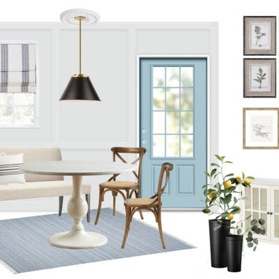 Small Dining Room Remodel : Mood Board and Inspirations