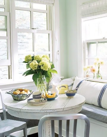 small dining room seating nook breakfast nook banquette seat cottage farmhouse