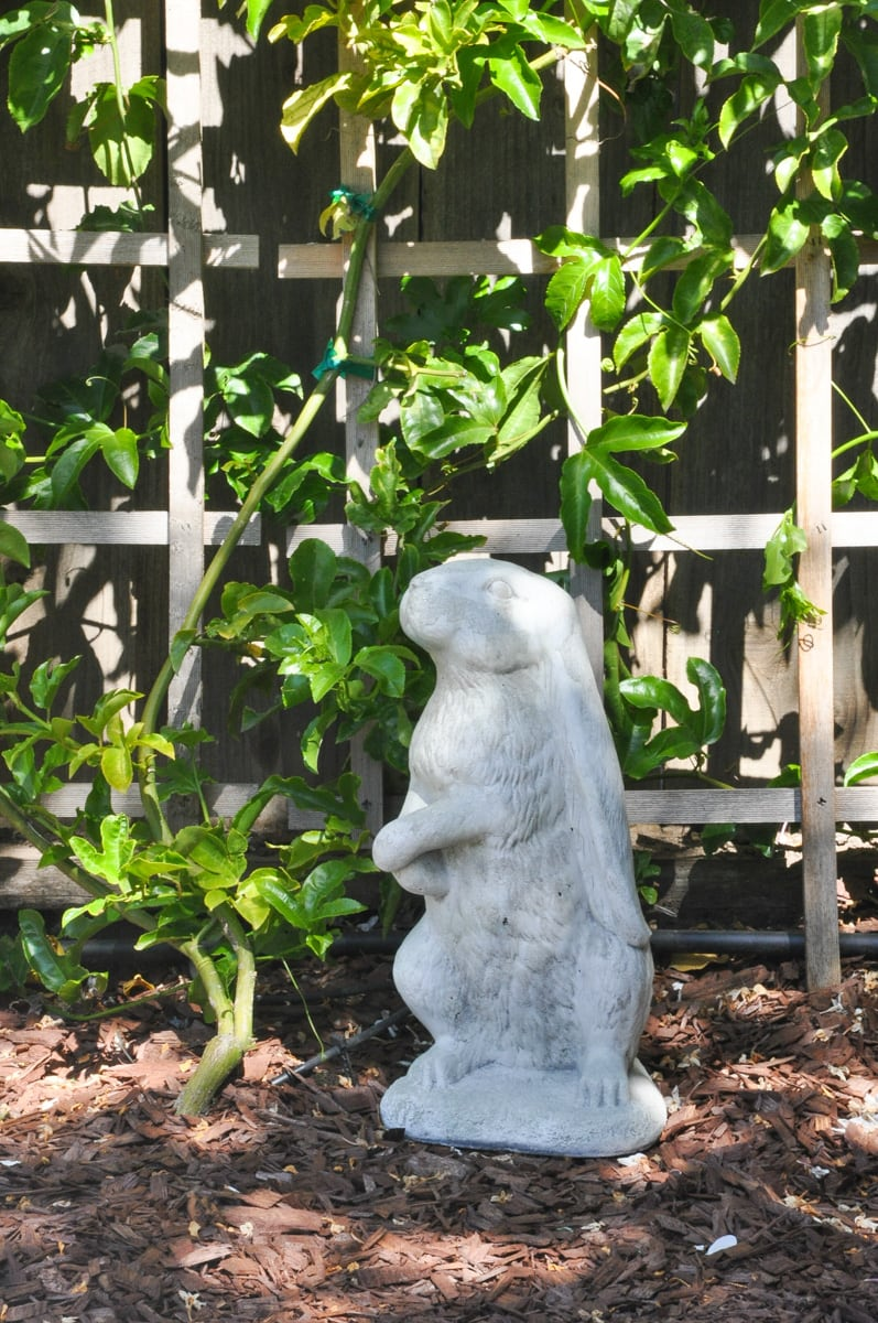 paint rabbit garden statues | outdoor decor refinish, DIY makeover