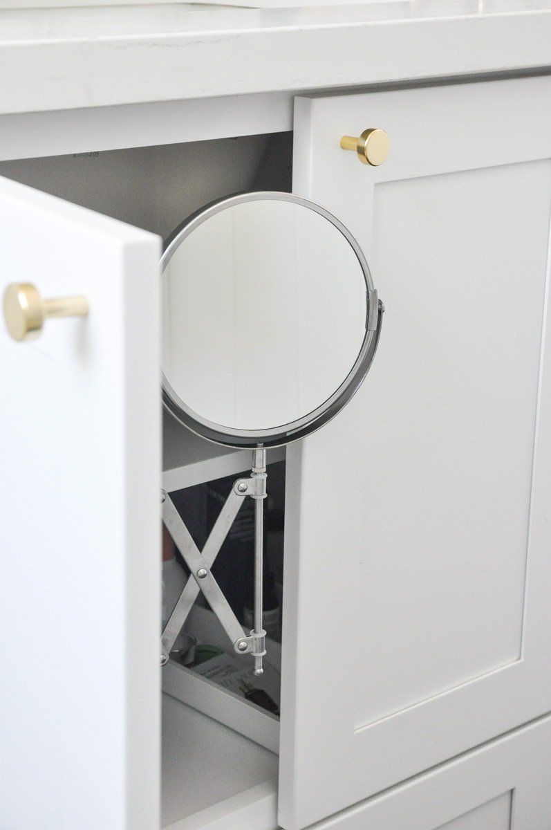 diy bathroom vanity mirror installation ikea frack mirror hack