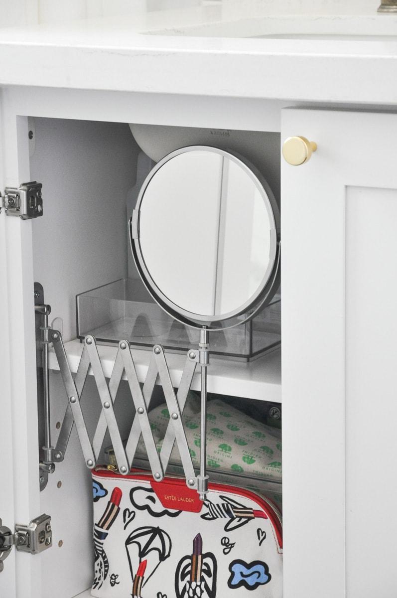 Diy Bathroom Vanity Inside Mirror Ikea Frack Mirror Hack Hydrangea Treehouse