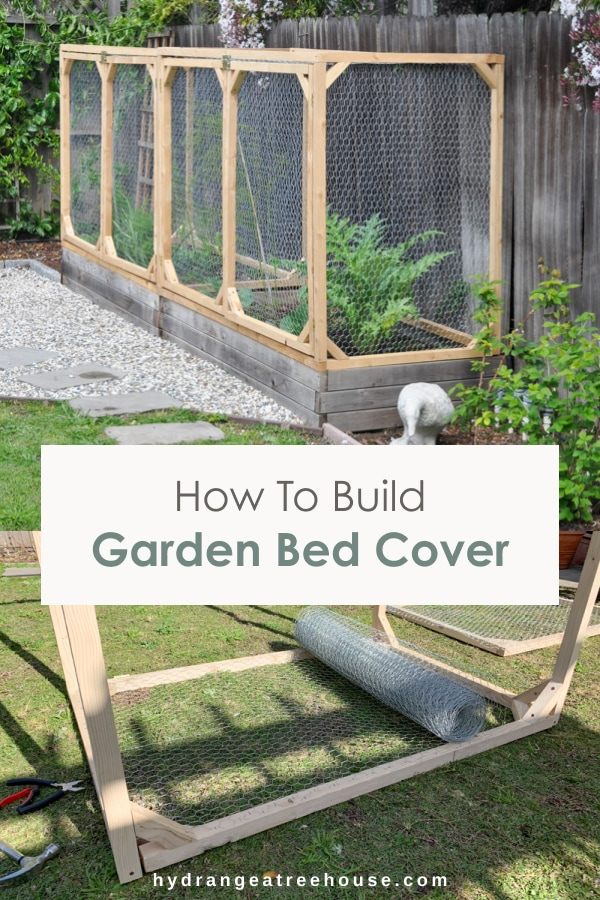 diy garden bed cover to protect your raiseds bed from animals - raised garden bed with fence