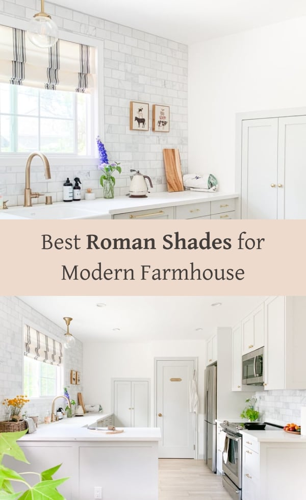 best roman shades blinds for farmhouse style homes, roman shades roundups