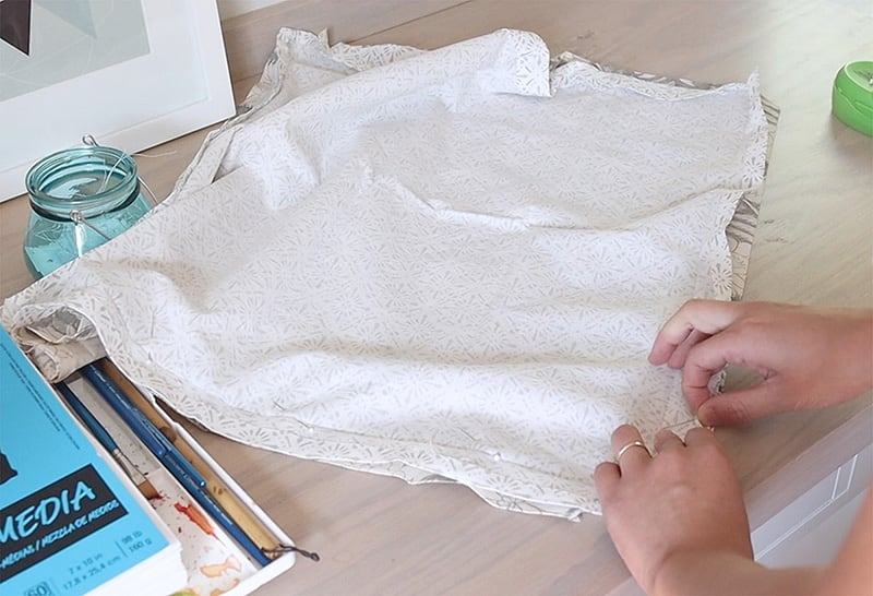 how to sew pillow covers with zipper