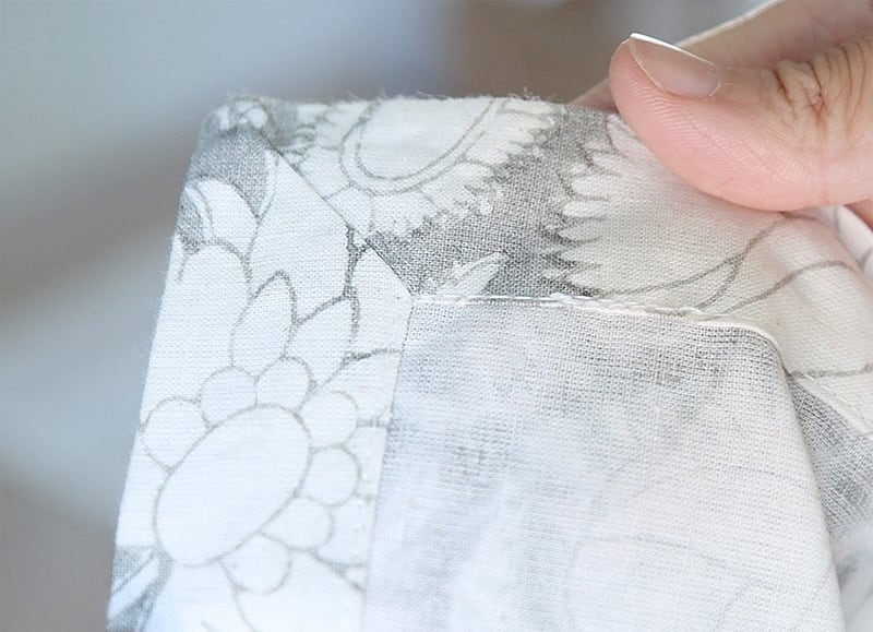 easy diy pillow covers with zipper from pottery barn napkin