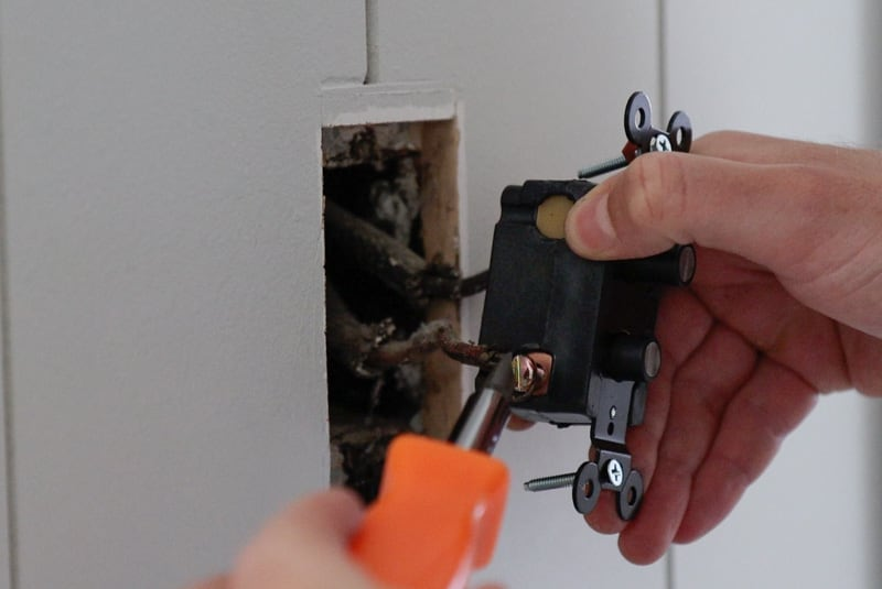 how to change light switch to single push button light switch