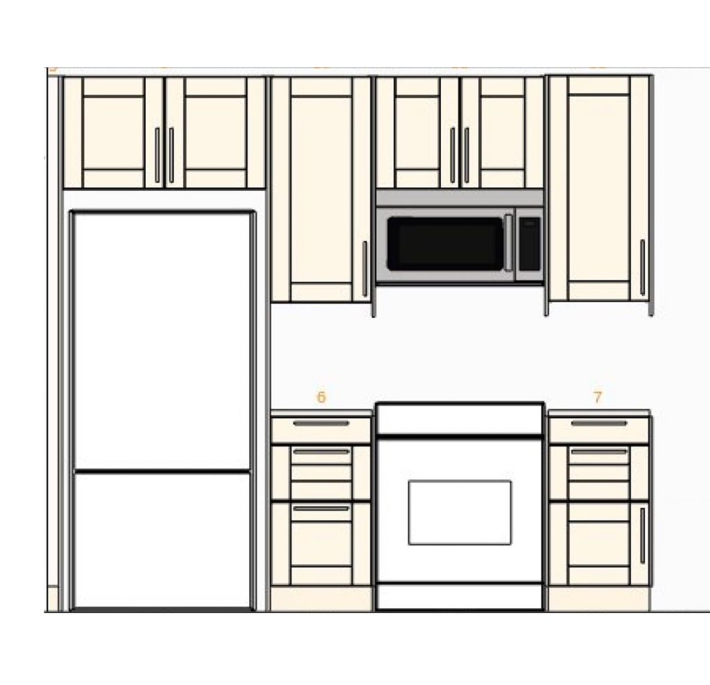 ikea kitchen cabinets plan and layout