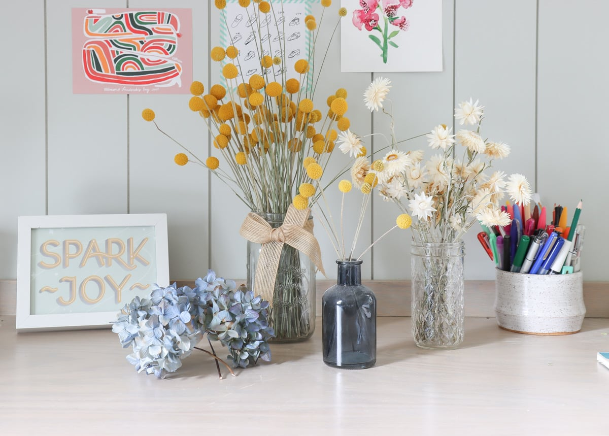 How to dry hydrangeas and preserve flowers