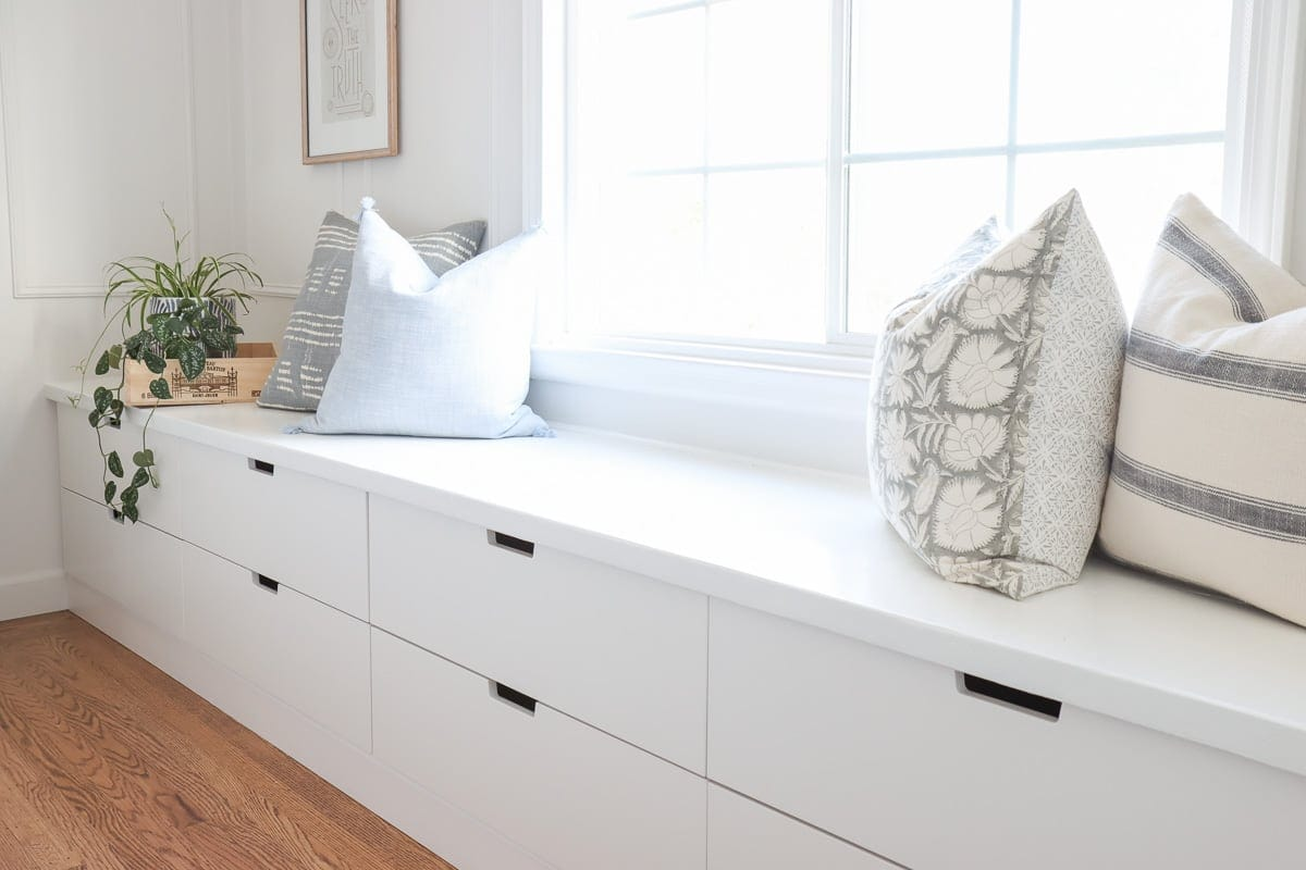 DIY Window Seat with Ikea Nordli Hack