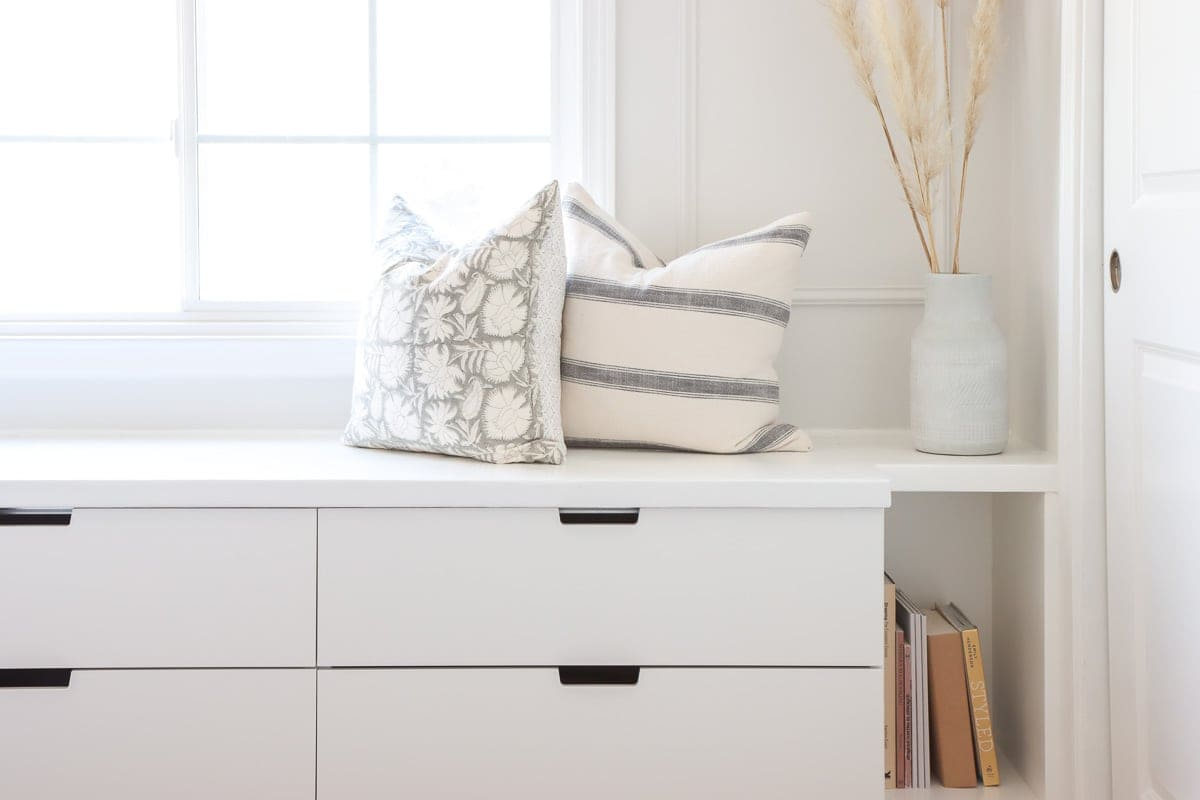 Ikea Nordli drawer dresser hack