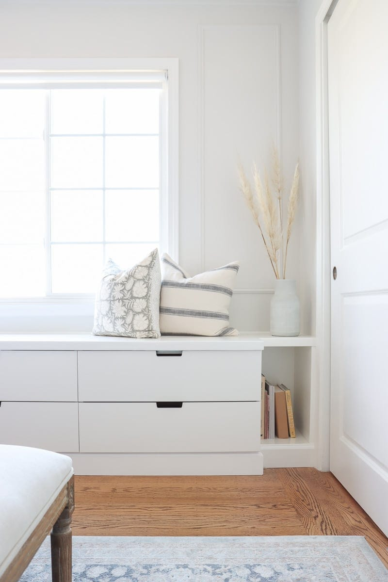 DIY Ikea bench seat with storage