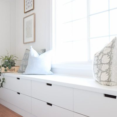 DIY Ikea Window Seat with Nordli Hack