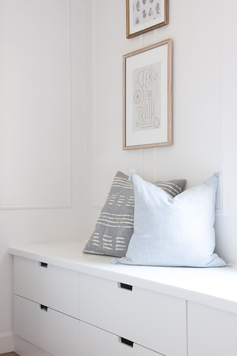 diy window seat with storage from ikea nordli drawers
