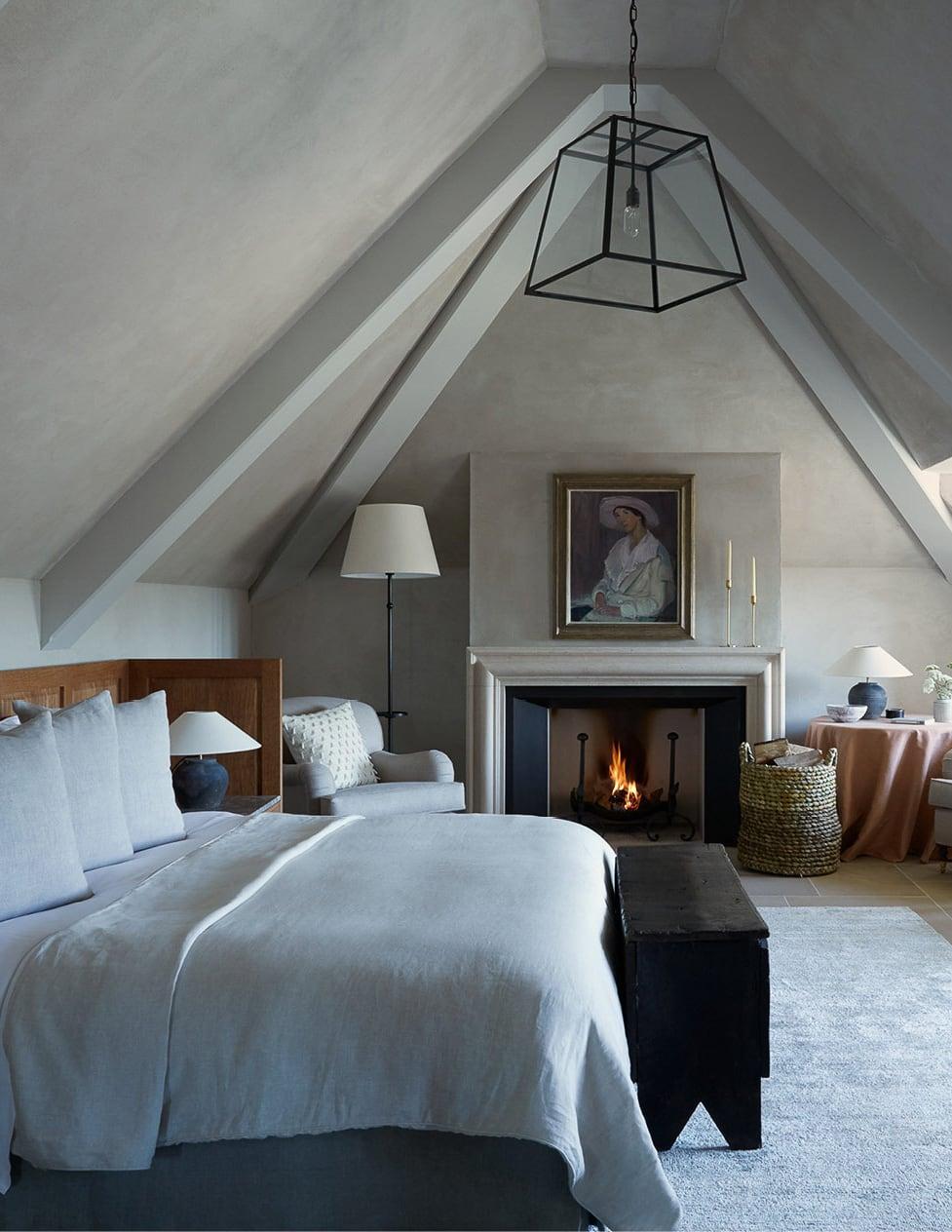 georgian style interior bedroom