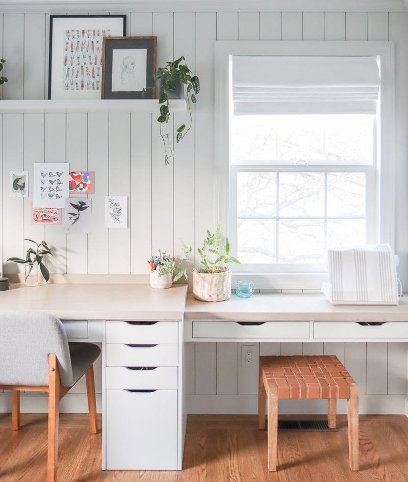 ikea alex desk with drawers