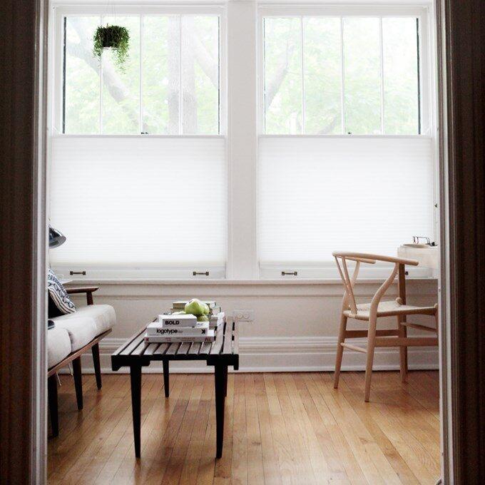 kitchen window treatment roman shade alternative cellular bottom up