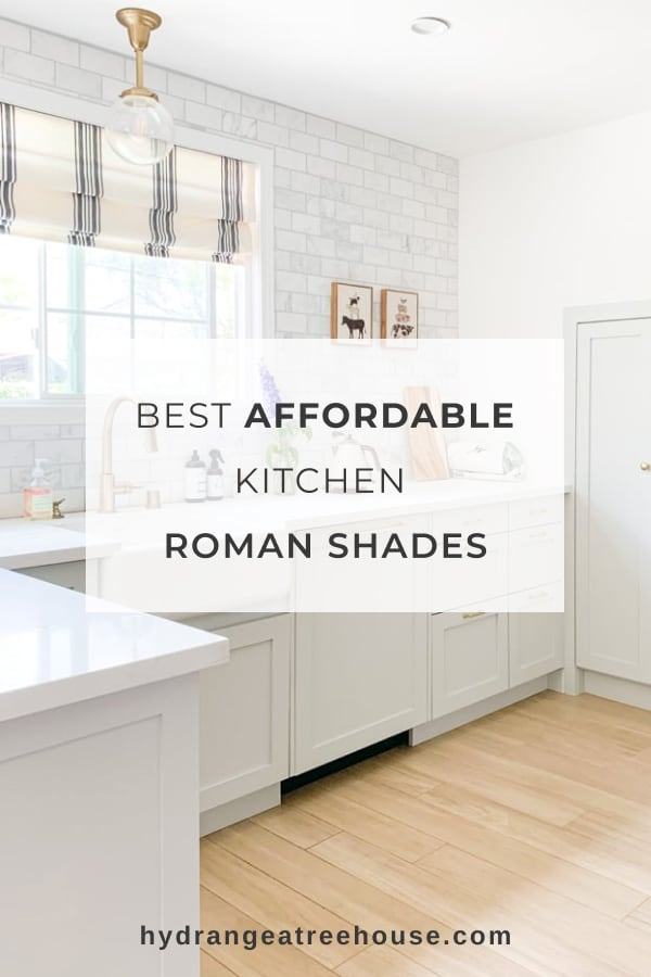 best kitchen roman shades affordable options and alternative window treatments