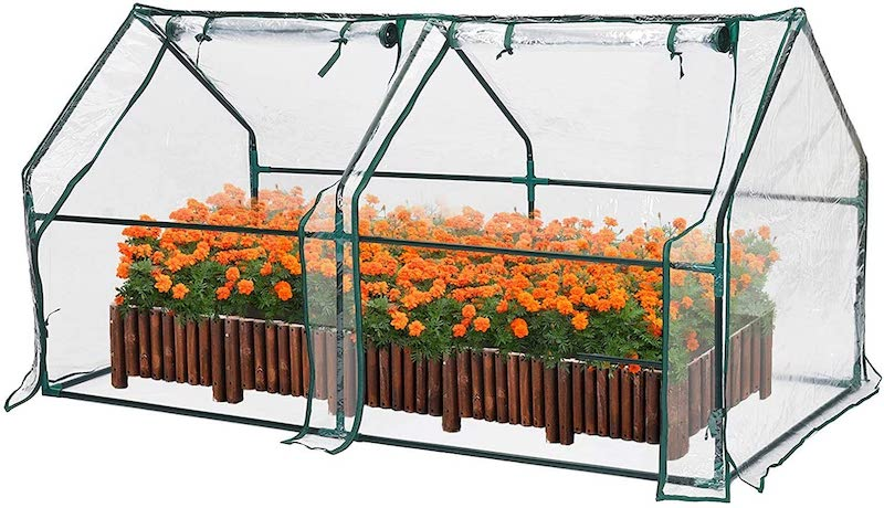 greenhouse garden bed cover