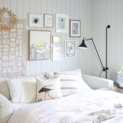 Guest Room / Office Combo Makeover | How to Design A Multipurpose Guest Room