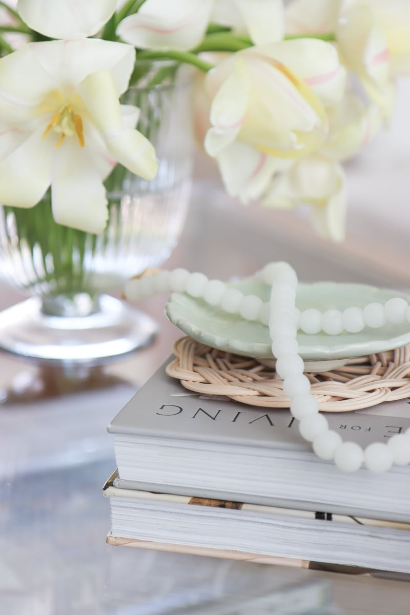 soft and romantic coffee table styling essential decors