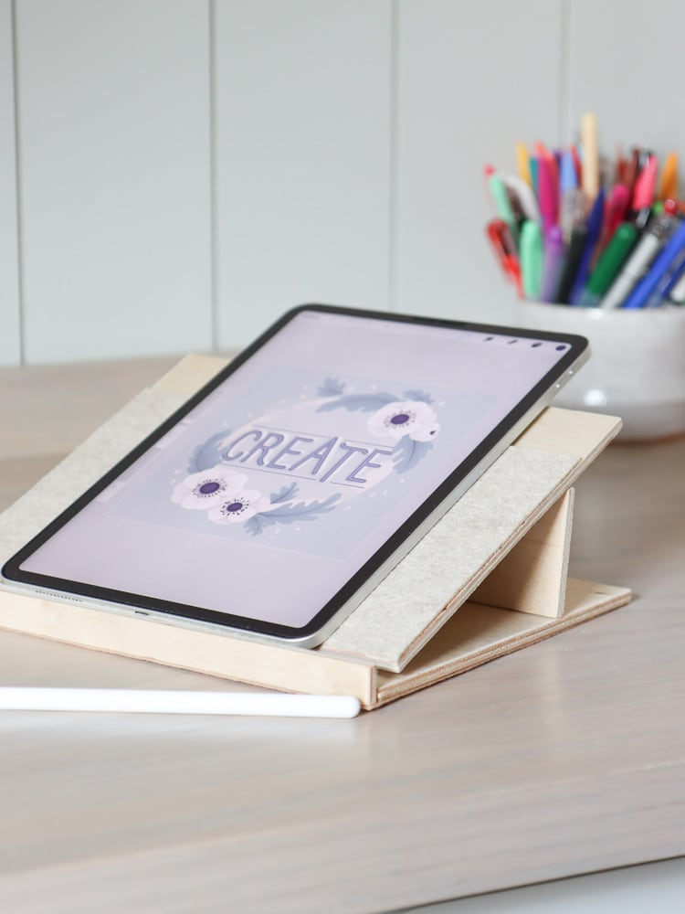 drawing tablet stand DIY