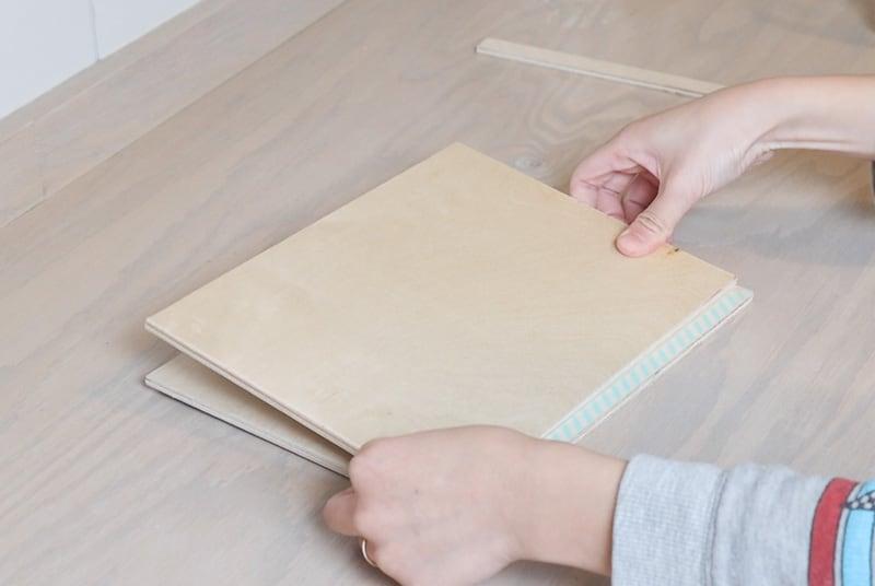 DIY iPad stand for drawing progress